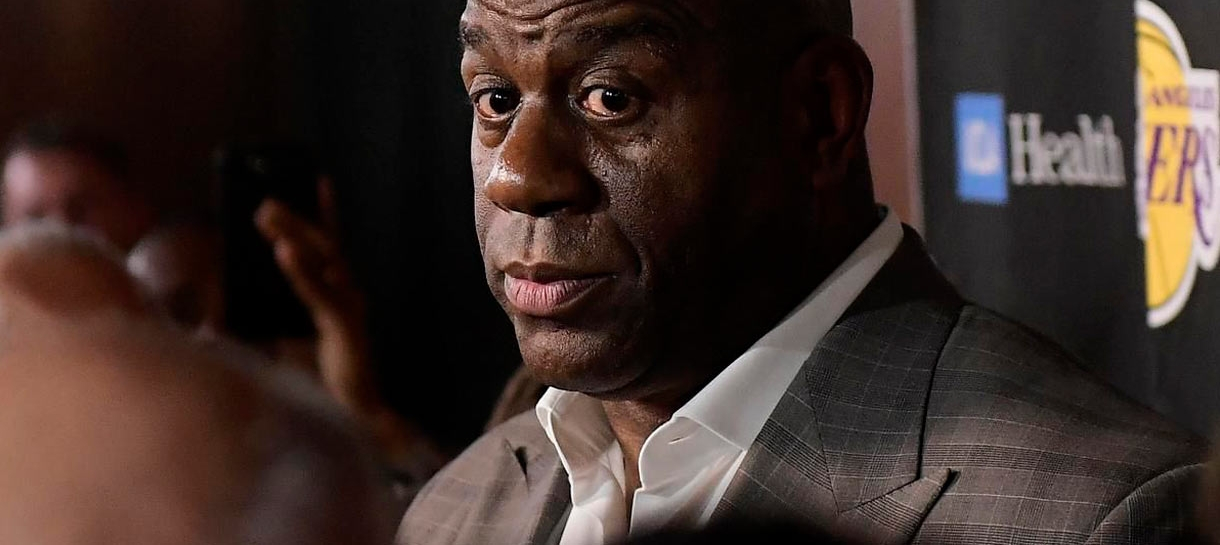 Lakers sem presidente: Uma reflexão sobre Magic Johnson