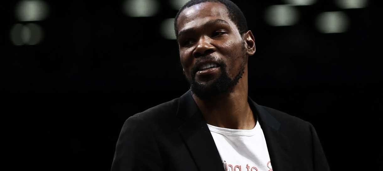 NBA: Kevin Durant fala sobre o novo NBA2k22 e revela seu quinteto ideal
